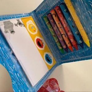 Sesame Street Office - 2 pk Sesame Street Drawing kit On The Go